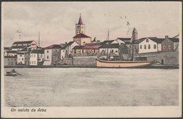 Un Saluto Da Arbe, 1908 - Carl Lampe Cartolina - Croatia