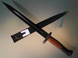 Baionnette Dague Militaire Yougoslave Mod 1948 - Armes Blanches