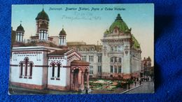 Bucuresti Biserica Zlatari, Posta Si Calea Victoriei Romania - Romania