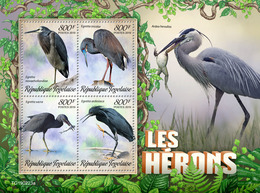 Togo.  2019 Herons. (0223a)   OFFICIAL ISSUE - Cigognes & échassiers