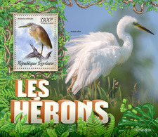 Togo.  2019 Herons. (0223b)   OFFICIAL ISSUE - Cigognes & échassiers