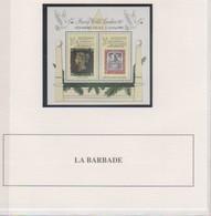 BARBADE 1990 BLOC N° 28 Neuf** MNH - Barbades (1966-...)