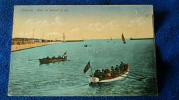 Constanta Barci Cu Marinari In Port Romania - Romania
