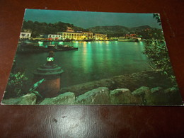 B729  Isola D'ischia Porto Notturno Viaggiata Pieghina Angolo - Italia