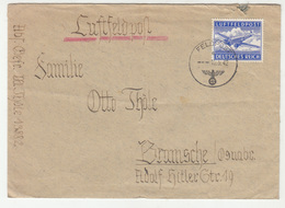 Germany Reich WWII Luftfeldpost Air Mail Letter Cover Travelled 1942 FP 13882 To Bramsche B190701 - Luchtpost