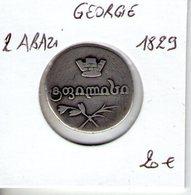 Georgie. 2 Abazi. 1829 - Georgien