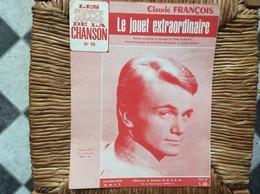 PARTITION MISICALE  *CLAUDE FRANÇOIS  Le Jouet Extraordinaire - Scores & Partitions