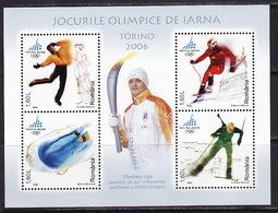 Romania, 2006 Winter Olympics, Biathlon, Block - Winter 2006: Torino