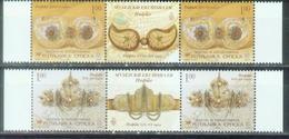 BHRS 2006-377-8 MUSEUM EXPONATE, BOSNA AND HERZEGOVINA-R.SRPSKA, 2 X 2v + Labels, MNH - Ostern