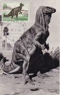San Marino 1966 IGUANODON Maximum Dinosaurs - Préhistoriques