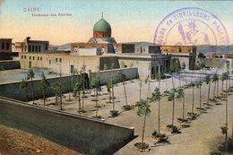 """S2375 Cpa Egypte - Caire, Tombeaux Des Khalifes  """" Cachet Tirailleurs Malgaches """" - Unclassified"""