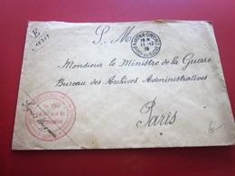 WW1-Lettre S.M-141é Régiment Infanterie 341é Reserve Cachet Militaire & C.à Date Marseille Guerre 1914-18 Marcophilie - Postmark Collection (Covers)
