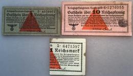 KRIEGSGEFANGENEN LAGERGELD WEHRMACHT 1939-45 Ro 515-516 (II.WK WW2 POW Gutscheine Banknoten Deutsches Reich Billet Camp - Verrechnungsscheine - Dt. Wehrmacht