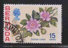BERMUDA Scott # 264 Used - Flowers - Bermuda