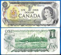 Canada 1 Dollar 1973 Serie MK Dollars Elizabeth 2 Queen Que Prix + Port - Canada
