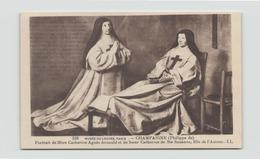 PORTRAIT DE MERE CATHERINE AGNES ARNAULD ET DE SOEUR CATHERINE DE SAINTE SUZANNE PAR CHAMPAIGNE - Peintures & Tableaux