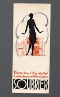 Paris Rue De Reuilly : Marque Page (carton) SOUBRIER   (PPP0709) - Marque-Pages