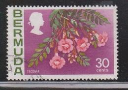 BERMUDA Scott # 267 Used - Flowers - Bermuda