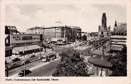 BERLIN - KURFÜRSTENDAMM ECKE JOACHIMSTALER STRAßE - POSTED IN 1955 #94425 - Other
