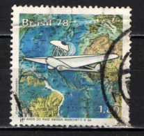 BRASILE - 1978 - 1^ ATTRAVERSATA DEL SUD ATLANTICO - CINQUANTENARIO - USATO - Brazil