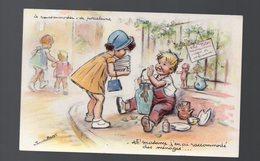 Carte Postale De Germaine Bouret Le Raccomodeur De Porcelaine  (PPP0746) - Bouret, Germaine