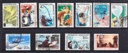 Australian Antarctic 1966 Definitives Set Of 11 Used - Australian Antarctic Territory (AAT)