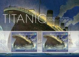 Blok 200** Titanic Postfris 4228/29** Feuillet Le Titanic Non- Obliteré - Sheet Titanic Unused Edition - Blocs 1962-....