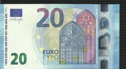 "20 EURO IRELAND ""T"" T006 A5 TC0440040197 AUNC DRAGHI - EURO"