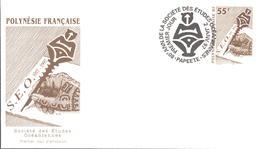 Polynésie FDC N° 524 - FDC