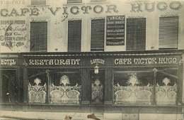 MEURTHE ET MOSELLE  HOMECOURT  CAFE VICTOR HUGO  Restaurant FACADE - Homecourt