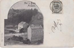 MODAVE - Pont-de-Bonne - 1903 - Imp. Noel Huy - Hotel Des Touristes - Modave