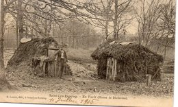 SAINT LEU LA FORET En Forêt Huttes De Bucherons - Saint Leu La Foret