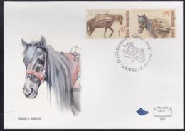 Bosnia, Horses, 2001, FDC - Cavalli
