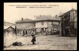 51 -  MOIREMONT (Marne) - L'Eglise Et La Grande Fontaine - Otros Municipios