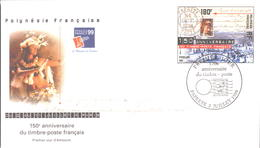 Polynésie FDC N° 602 - FDC