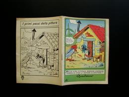 Quaderno Scolastico Non Scritto Anni 50 I Primi Passi Della Pittura Sgrilli - Vecchi Documenti