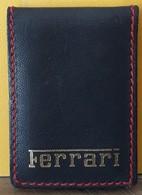 Très Beau Coupe Cigare Ferrari étuis Cuir - Coupe-cigares