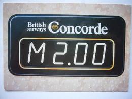 Avion / Airplane / BRITISH AIRWAYS / Concorde / The Machmeter - 1946-....: Ere Moderne