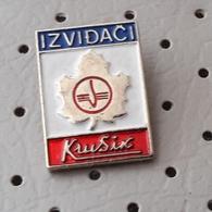 Scout Association Krusik Serbia Ex Yugoslavia Pin - Associazioni
