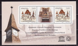 Romania, 2011 Cultural Heritage Of UNESCO, Block - 1948-.... Repúblicas