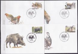 Macedonia, Fauna , 2002, FDC - Francobolli