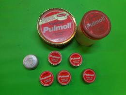 Lot De 7  Boites PULMOLL - EDULCOR - Pubblicitari