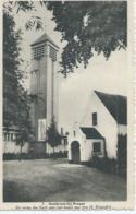 Assebroek-bij-Brugge - 3 - De Toren Der Kerk Met Het Beeld Van Den H. Kristoffel - La Phototypie D'Art - België