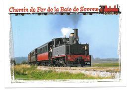 80 - CHEMIN DE FER DE LA BAIE DE SOMME Locomotive 130 CAIL N° 2 De 1889 Entre Noyelles Sur Mer Et Saint Valéry Sur Somme - Other Municipalities