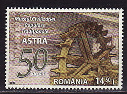 Romania, 2013, 50 Years Of Traditions' Museum, 1 Stamp - 1948-.... Repúblicas