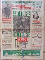 Journal De La Foire De Tours (mai 1969) 48eme Foire De Tours - Mulheim - - Programma's
