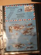 """TAAF - Aérogramme 1994 - Inauguration Piste Terre Adélie """"ANNULEE PISTE ENDOMMAGEE"""" - N° 191 - Enteros Postales"""