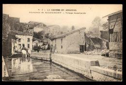 51 -  MOIREMONT (Marne) - Abreuvoir - Village Bombardé - Otros Municipios