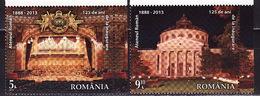 Romania, 2013, Architecture, 2 Stamps - 1948-.... Repúblicas