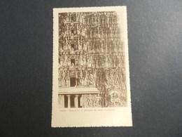 19950) INDIA DETTAGLIO DEI TEMPLI DI MADURA ISTITUTO MISSIONI ESTERE VIAGGIATA 1920 RARA - India